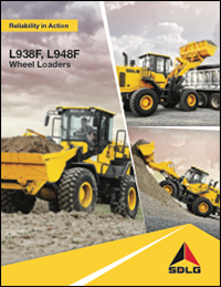 SDLG L938F/L948F Wheel Loader Brochure