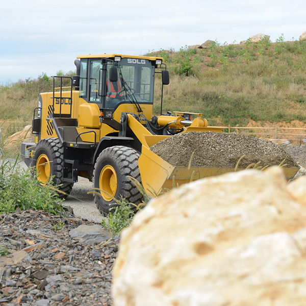 SDLG-L948F-Front-End-Loader-Backfilling-Holes