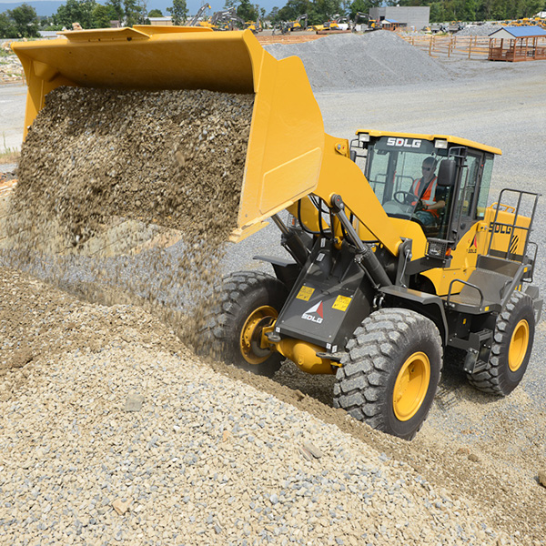SDLG-L948F-Front-End-Loader-Gravel-Yard
