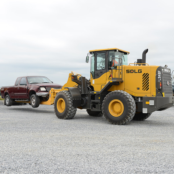 SDLG-L948F-Front-End-Loader-Auto-Handling-Recycling