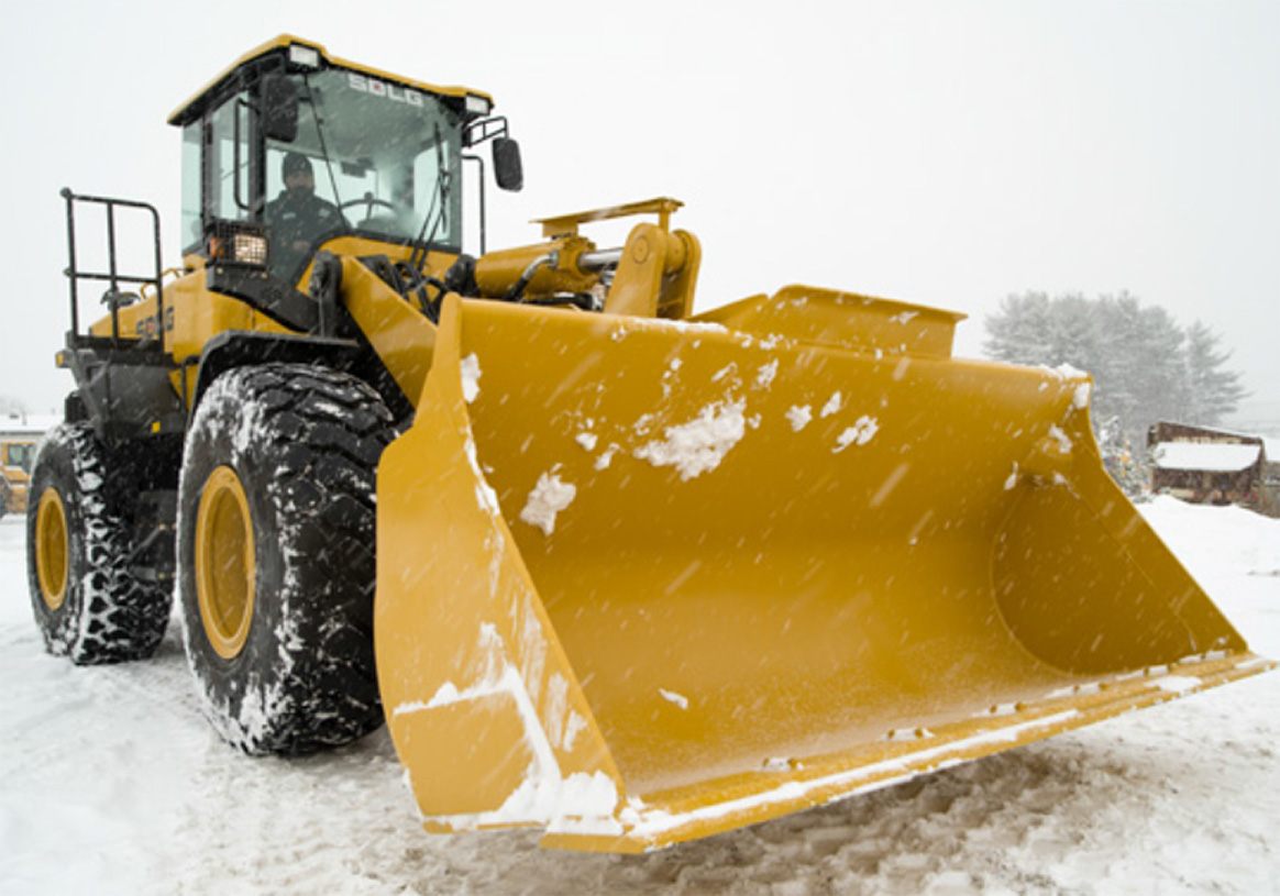 New Jersey DOT uses SDLG frontend loaders