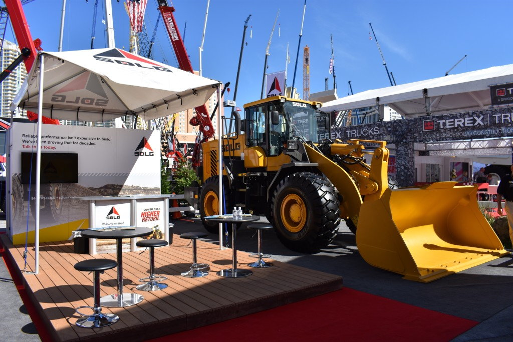 SDLG Compact Wheel Loaders at ConExpo 2007