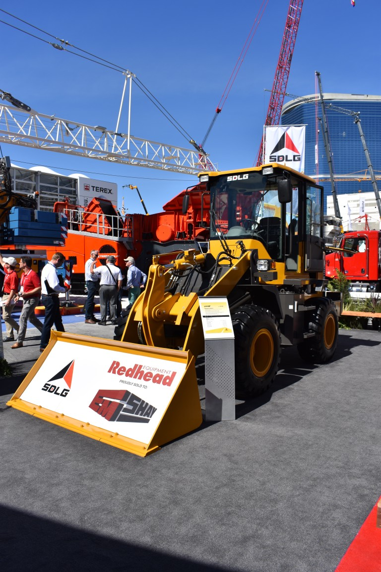 SDLG Compact Wheel Loaders at CONEXPO 2017
