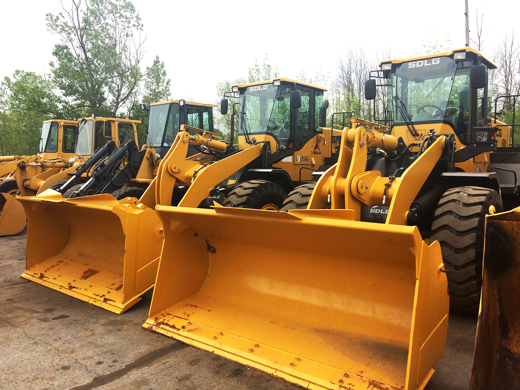 Boon & Sons chooses SDLG front end loaders for snow removal in upstate New York