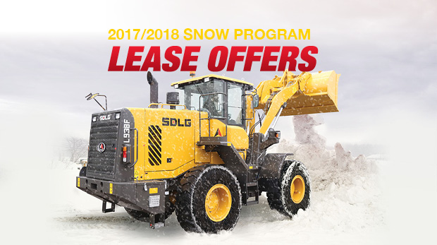 Cost Effective Snow Removal with SDLG Wheel Loaders