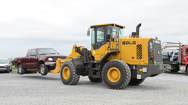 Just the wheel loader features you need, at a price you want